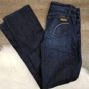 Joe's Jean's Dark Wash Muse Wide Leg Jeans